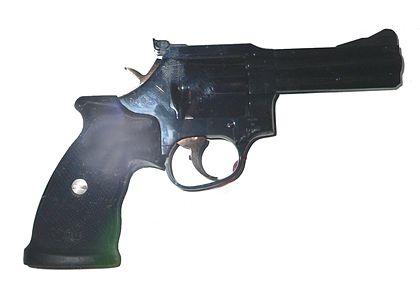 Le groupe d'armement français Manurhin . Mr7310