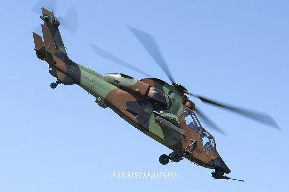 Le taux de disponibilité technique des hélicoptères s'effrite . Tigre-10
