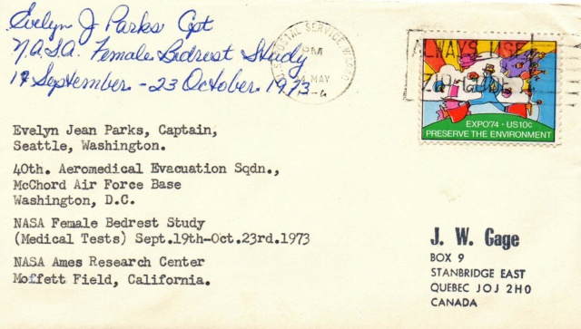 45ème anniversaire de la première étudeféminine de Bedrest / alitement de la NASA 1973_010