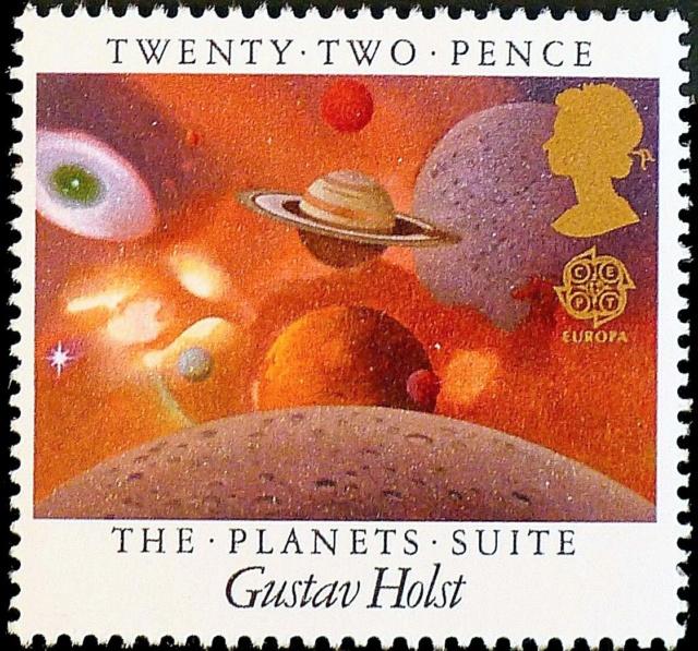 100ème anniversaire de la première représentation de ''Les Planètes'' de Gustav Holst / 1918-2018 1985_g10