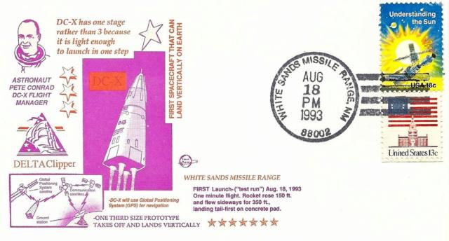 18 août 1993 - Premier vol de la fusée Delta Clipper 1993_010