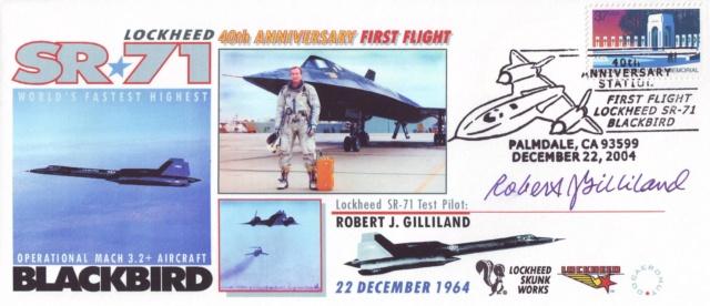 Disparition de Robert J. Gilliland (1926-2019), premier piolote du SR-71 Blackbird 2004_113
