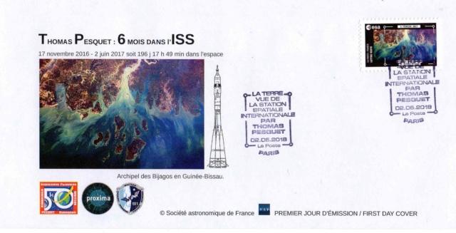 Carnet de timbres Thomas Pesquet - 4 juin 2018 2018_025