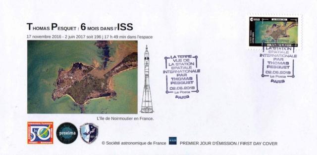 Carnet de timbres Thomas Pesquet - 4 juin 2018 2018_026