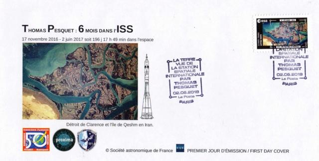 Carnet de timbres Thomas Pesquet - 4 juin 2018 2018_027