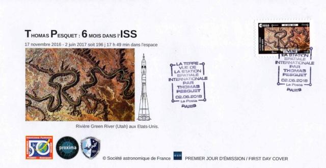 Carnet de timbres Thomas Pesquet - 4 juin 2018 2018_028
