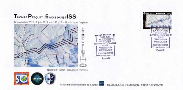 Carnet de timbres Thomas Pesquet - 4 juin 2018 2018_029