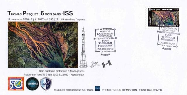 Carnet de timbres Thomas Pesquet - 4 juin 2018 2018_030