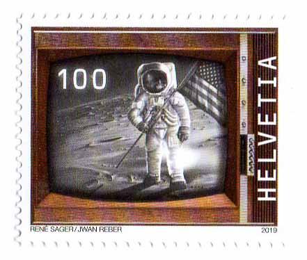 [Philatélie 50 ans Apollo 11] Emission d'un timbre par la Suisse / mai 2019 2019_010