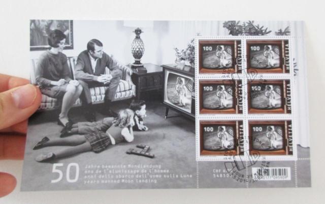 [Philatélie 50 ans Apollo 11] Emission d'un timbre par la Suisse / mai 2019 2019_018