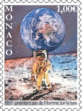 [Philatélie 50 ans Apollo 11] Emission d'un timbre par Monaco - juillet 2019 2019_035