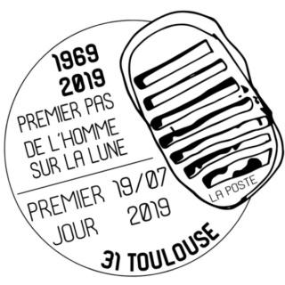 [Philatélie 50 ans Apollo 11] Emission d'un timbre en France - juillet 2019 2019_036
