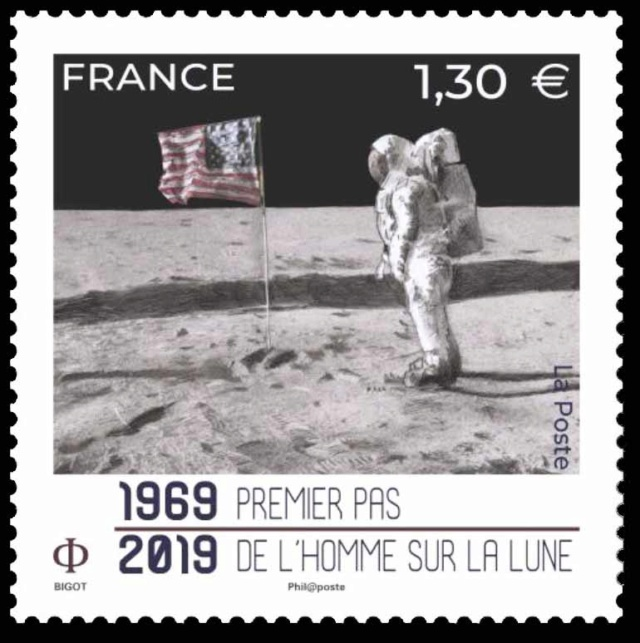 [Philatélie 50 ans Apollo 11] Emission d'un timbre en France - juillet 2019 2019_038