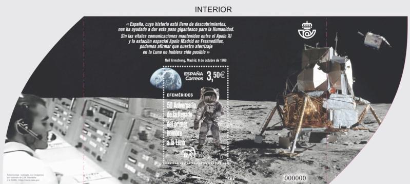 [Philatélie 50 ans Apollo 11] Emission d'un timbre en Espagne - Juin 2019 2019_039