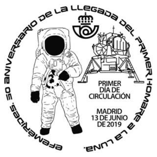 [Philatélie 50 ans Apollo 11] Emission d'un timbre en Espagne - Juin 2019 2019_040