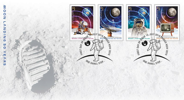 [Philatélie 50 ans Apollo 11] Emission d'une série de timbres en Australie - Juillet 2019 2019_042