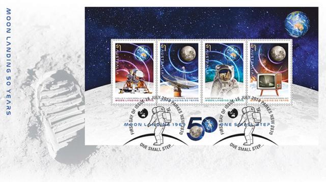 [Philatélie 50 ans Apollo 11] Emission d'une série de timbres en Australie - Juillet 2019 2019_043
