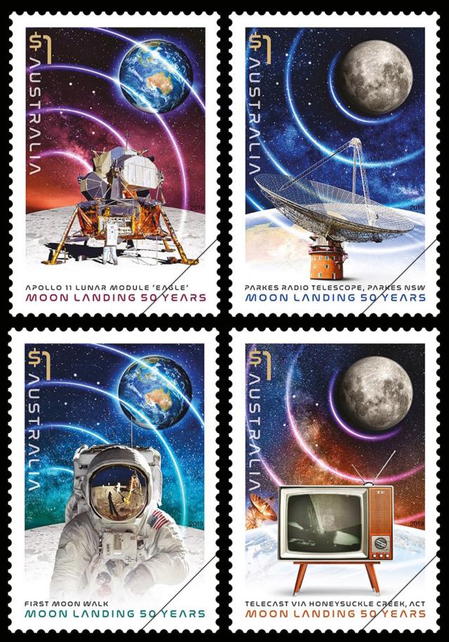 [Philatélie 50 ans Apollo 11] Emission d'une série de timbres en Australie - Juillet 2019 2019_044