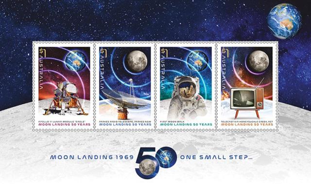 [Philatélie 50 ans Apollo 11] Emission d'une série de timbres en Australie - Juillet 2019 2019_045