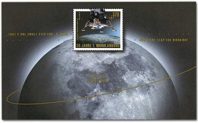 [Philatélie 50 ans Apollo 11] Emission de deux timbres en Allemagne  - Juillet 2019 2019_050