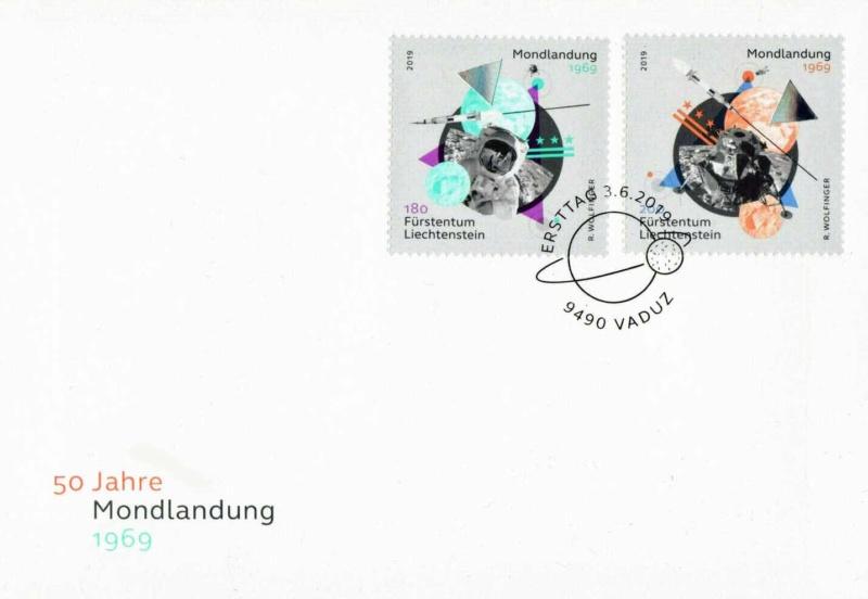 [Philatélie 50 ans Apollo 11] Emission d'une paire de timbres au Liechtenstein - Juin 2019 2019_064