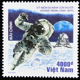 [Philatélie 50 ans Apollo 11] Emission d'un timbre au Vietnam - juillet 2019 2019_069