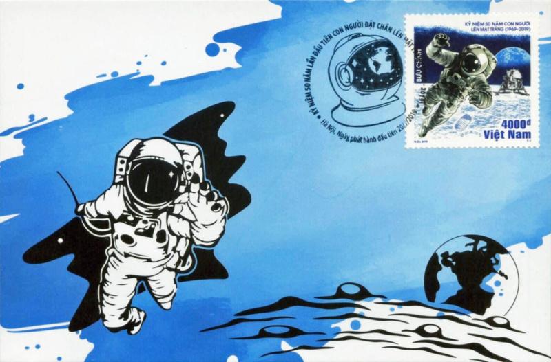 [Philatélie 50 ans Apollo 11] Emission d'un timbre au Vietnam - juillet 2019 2019_070
