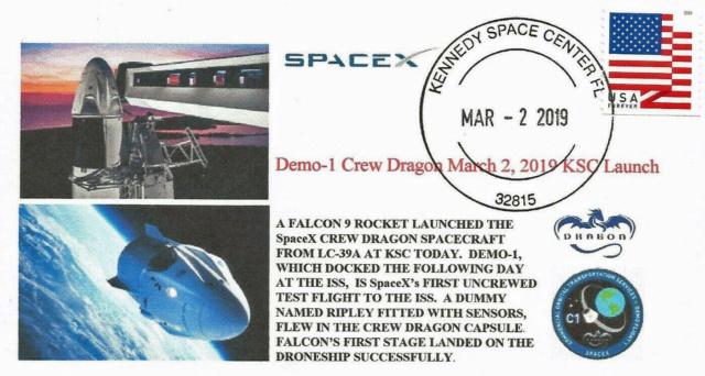 [astrophilatélie] La mission Crew Dragon DM-2 / 30 mai 2020 2019_071