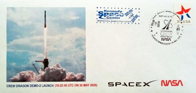 [astrophilatélie] La mission Crew Dragon DM-2 / 30 mai 2020 2020_014