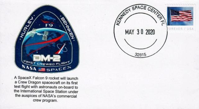 [astrophilatélie] La mission Crew Dragon DM-2 / 30 mai 2020 2020_015