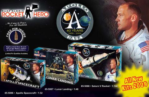 [Maquettes] 50ème anniversaire d'Apollo 11 / Série Revell Apollo57