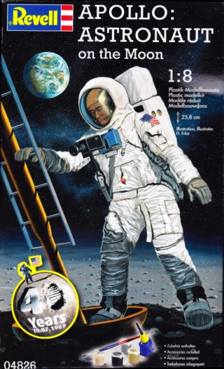 [Maquettes] 50ème anniversaire d'Apollo 11 / Série Revell Apollo58