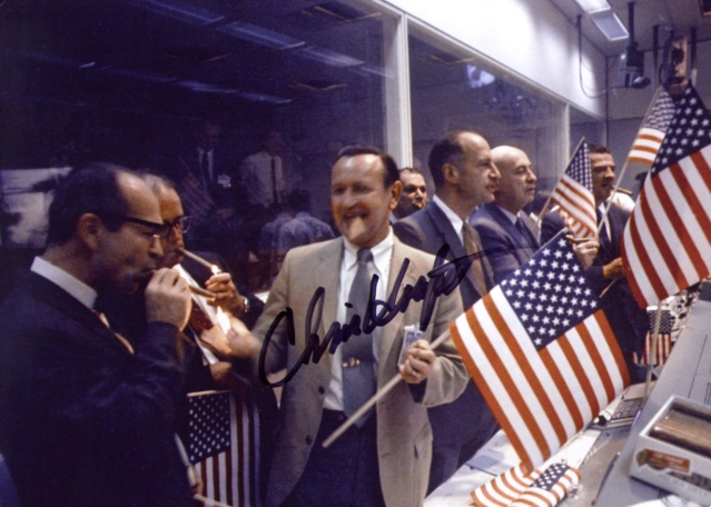 Disparition de Chris C. Kraft, Jr (1924-2019), le 1er Flight Director de la NASA Apollo64