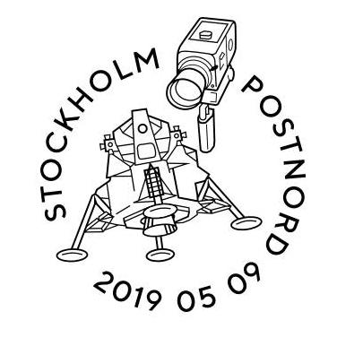 [Philatélie 50 ans Apollo 11] Emission d'un bloc-feuillet par la Suède / mai 2019 Captur11