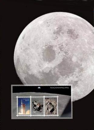 [Philatélie 50 ans Apollo 11] Emission d'un bloc-feuillet par la Suède / mai 2019 Captur12