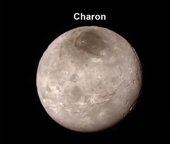[Conférence] New Horizons et Pluton - 15 juillet 2015 à la Cité des Sciences à Paris Charon10