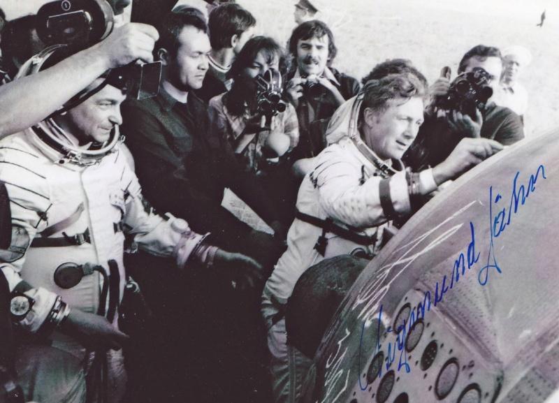 40 ans de la mission Soyouz 31 / Sigmund Jähn devient le premier allemand dans l'espace Dlemjy10