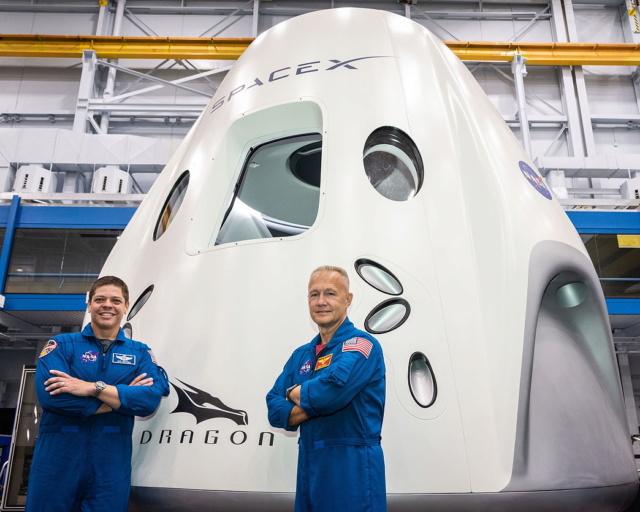 SpaxeX Crew Dragon Demo-2 / 1er vol habité - lancement le 30 mai 2020 Dragon10