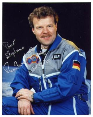 L'astronaute Reinhold Ewald prend sa retraite de l'ESA Ewald_10