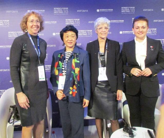 Rencontre avec 4 ''Women'' astronautes / cosmonautes - Paris le 16 novembre 2018 Img_0910