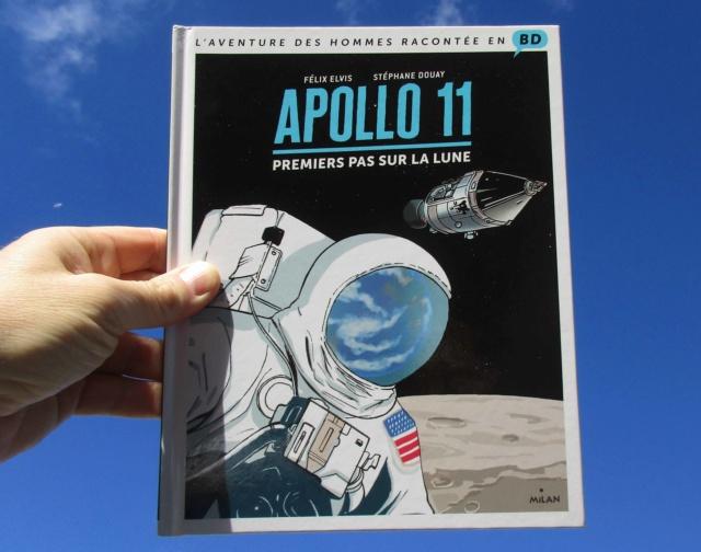 [BD Jeunesse] Apollo 11, premiers pas sur la Lune / Milan  Img_2910