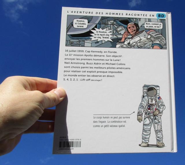 [BD Jeunesse] Apollo 11, premiers pas sur la Lune / Milan  Img_2913