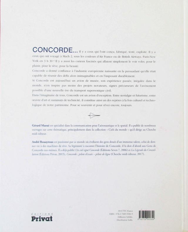 [Livre] CONCORDE La légende supersonique - Gérard Maoui et André Rouyaroux - 2019 Img_3113