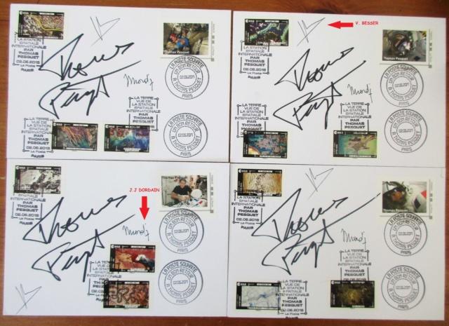 Carnet de timbres Thomas Pesquet - 4 juin 2018 Img_3810