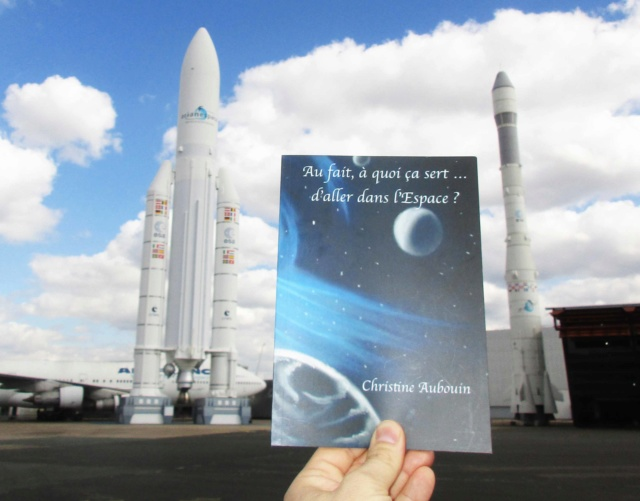 [Livre] Au fait, à quoi ça sert... d'aller dans l'espace ? Rencontre avec l'auteure Christine Aubouin Img_4115
