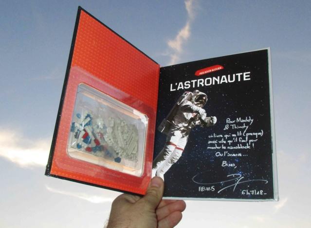 [Livre Jeunesse] L'astronaute / Mes Docu-Blocks chez Fleurus / Pierre-François Mouriaux Img_4811