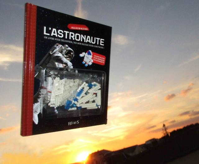 [Livre Jeunesse] L'astronaute / Mes Docu-Blocks chez Fleurus / Pierre-François Mouriaux Img_4812