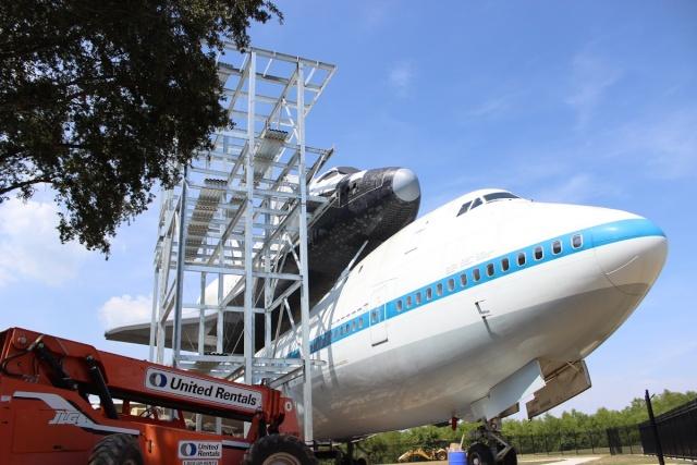 Le Boeing 747 SCA au Space Center de Houston (Texas) Img_6210