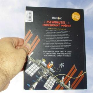 [Livre Jeunesse] Astronautes : Embarquement immédiat / StoryDoc Fleurus / Pierre-François Mouriaux et Mathilde George Img_7521