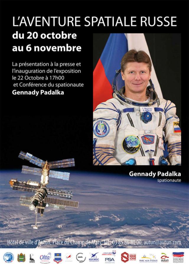 Conférence de Gennady Padalka à Autun (71) le 22 octobre 2018 Invita11